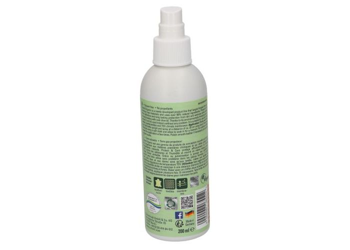 Collonil ORGANIC PROTECT protectie vocht/vuil transparant