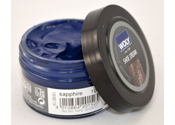 Woly KLEUR/GLANS SHOE CREAM 50 ml Blauw