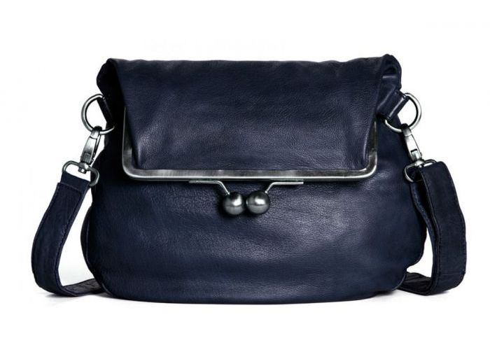 Handtas Sticks And Stones  CANNES BAG Blauw Donker