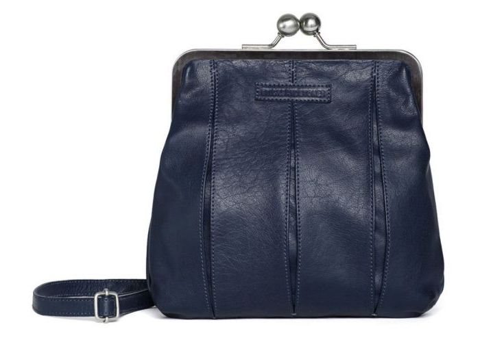 Handtas Sticks And Stones  LUXEMBOURG BAG Blauw Donker