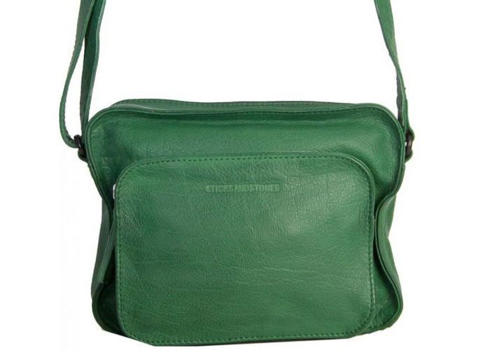 Handtas Sticks And Stones  RETIRO BAG Groen