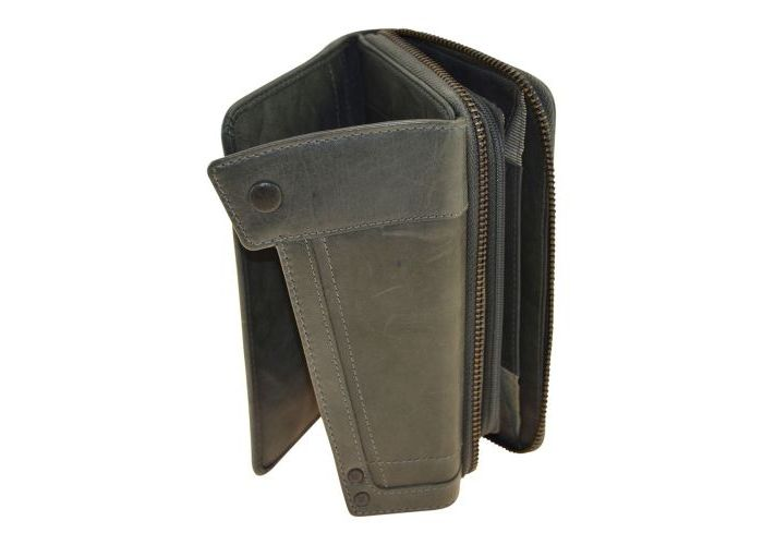 Aunts And Uncles SAM 42209-62 portemonnees grijs  donker