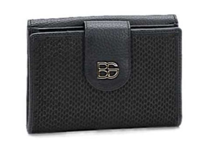 Mode accessoires Belluga PORTEFEUILLES BEC039 - SCALE Zwart