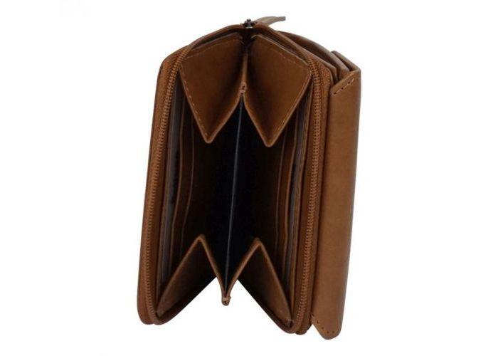 Belluga BEA003 BELLUGA WALLET portemonnees cognac/caramel