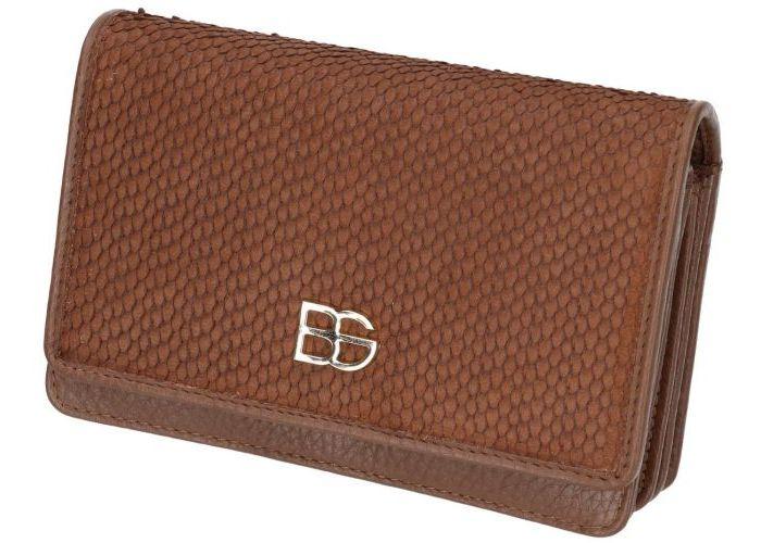 Belluga BEC030-BELLUGA SCALE portemonnees cognac/caramel