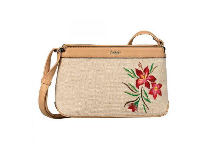 Mode accessoires Gabor Bags KUNSTLEDER 8436-132 CANARIA crossbag Beige