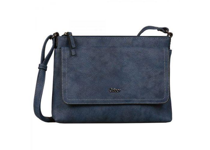 Mode accessoires Gabor Bags KUNSTLEDER 8358-50 DINA crossbag Blauw