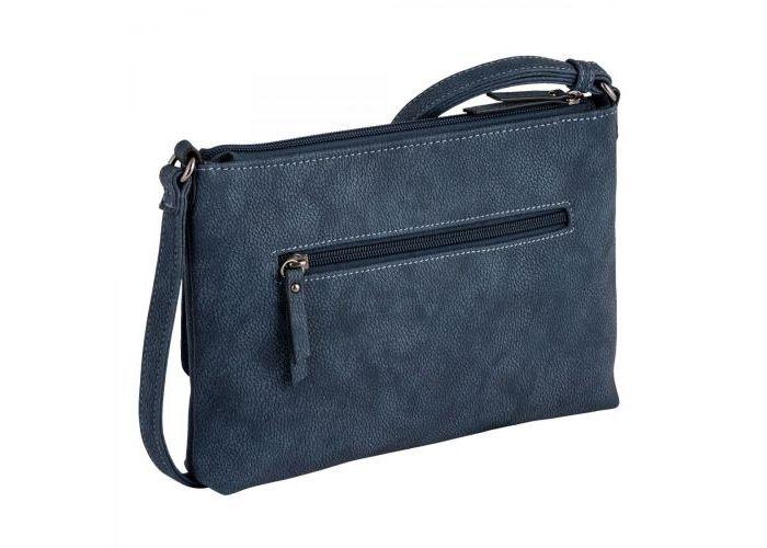 Gabor Bags 8358-50 DINA crossbag kunstleder blauw