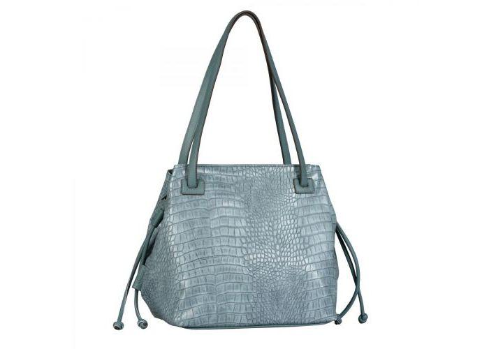 Mode accessoires Gabor Bags KUNSTLEDER 8640-128 GRANATA SHOPPER Blauw