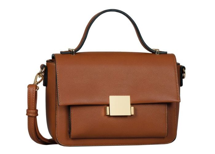 Mode accessoires Gabor Bags KUNSTLEDER 8140-22 LIANA flapbag Cognac/caramel