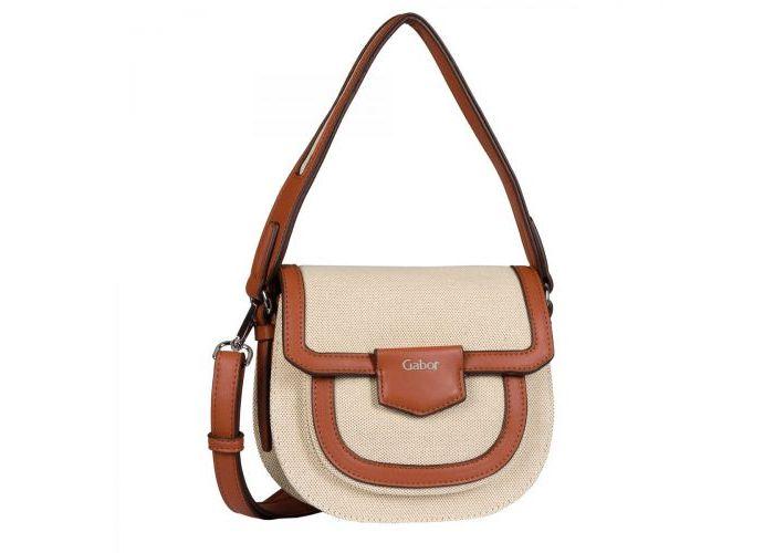 Mode accessoires Gabor Bags KUNSTLEDER 8610-137 ANGELINA flap bag Combinatie Kleuren