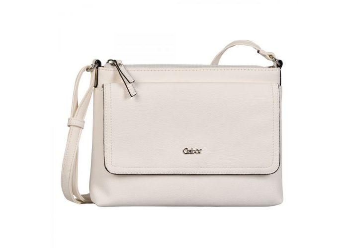 Mode accessoires Gabor Bags KUNSTLEDER 8358-13 DINA CROSSBAG Ecru