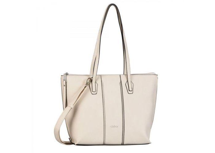 Mode accessoires Gabor Bags KUNSTLEDER 8360-13 SHOPPER  Ecru