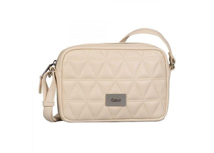 Mode accessoires Gabor Bags KUNSTLEDER 8635-13 KATJA CROSS BAG Ecru