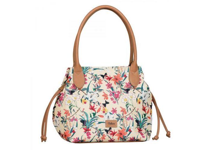 Mode accessoires Gabor Bags KUNSTLEDER 8647-13 GRANADA FLEUR shopper Multicolor