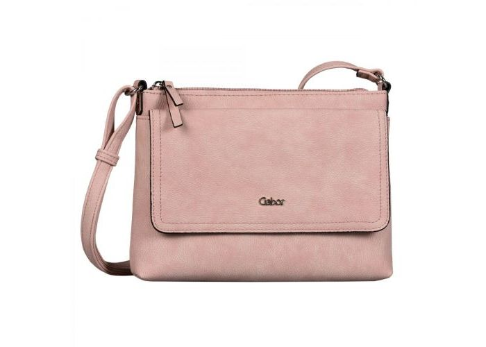 Mode accessoires Gabor Bags KUNSTLEDER 8358-03 DINA CROSS BAG Roze
