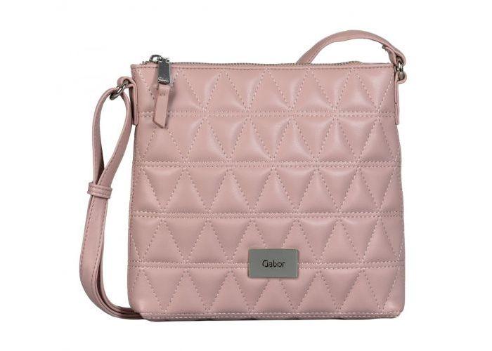 Mode accessoires Gabor Bags KUNSTLEDER 8636-05  KATJA CROSS BAG Roze