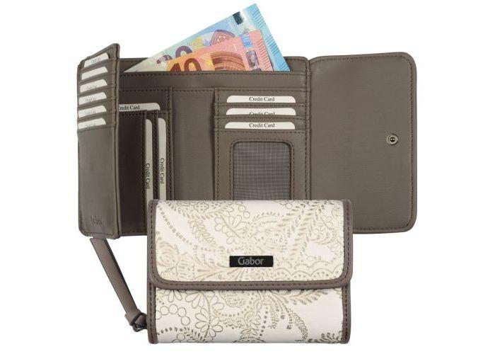 Gabor Bags 8110-13 GRANADA PAISLEY, wallet portefeuilles ecru