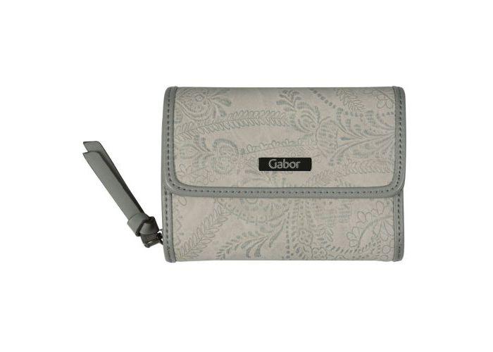 Mode accessoires Gabor Bags PORTEFEUILLES 8110-72 GRANADA PAISLEY WALLET Grijs