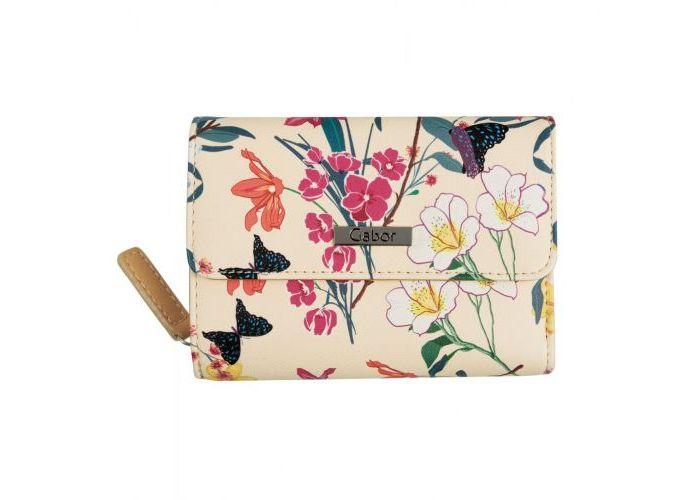 Mode accessoires Gabor Bags PORTEMONNEES 8649-13 GRANADA FLEUR WALLET Multicolor
