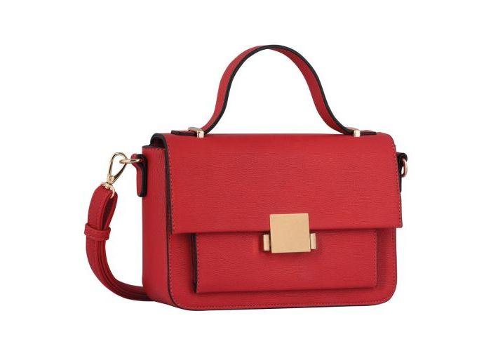Mode accessoires Gabor Bags  8140-40 LIANA, flapbag Rood