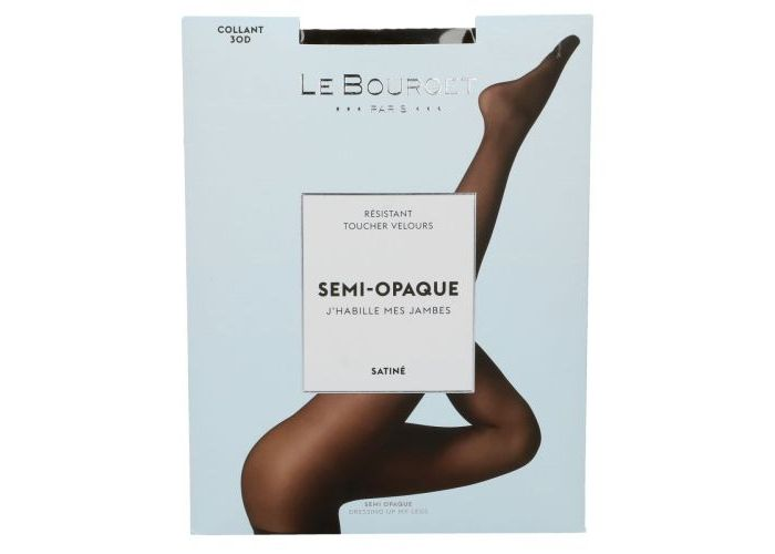 Le Bourget 1NH1 Collant 30D Semi-Opaque Satiné pantys /collants blauw donker