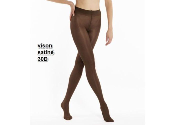 Le Bourget PANTYS /COLLANTS 1NH1 Collant 30D Semi-Opaque Satiné Bruin Donker