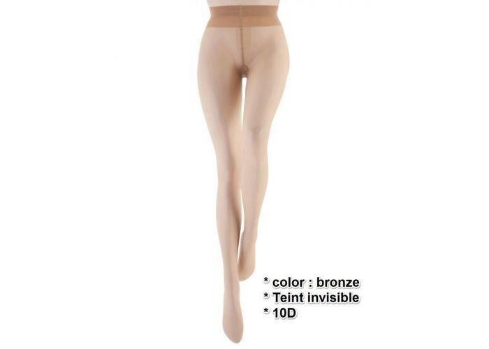 Mode accessoires Le Bourget PANTYS /COLLANTS 1KF Teint Invisible 10D Transparant