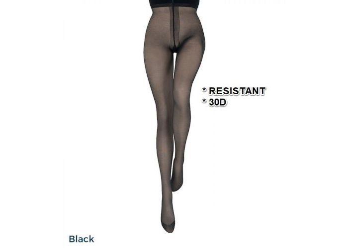 Mode accessoires Le Bourget PANTYS /COLLANTS 1BV Collant Résistant 30D Zwart