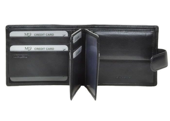 Marta Ponti B225017 - PLATINA RANGE portefeuilles zwart