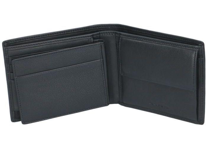 Marta Ponti B225025 - PLATINA RANGE portefeuilles zwart