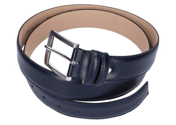 Muller And Sons  RIEM CLASSIC 105 cm Blauw Donker