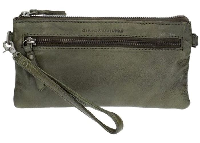 Mode accessoires Sticks And Stones  19522 LIMA bag Groen Olijf