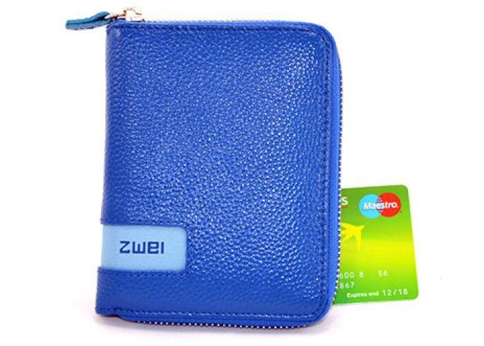Mode accessoires Zwei PORTEMONNEES W1 Blauw
