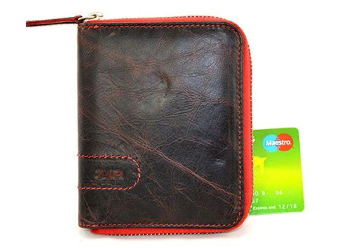 Zwei L1 portemonnees bruin donker