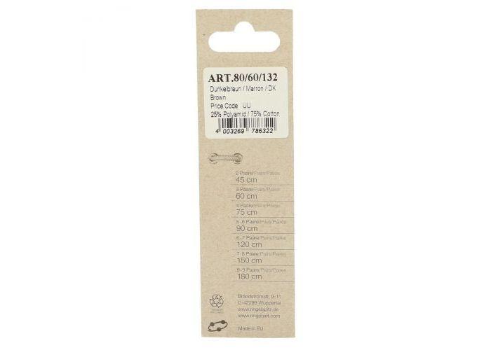 Ringpoint ART.80/60cm/fb.132 60 cm bruin donker