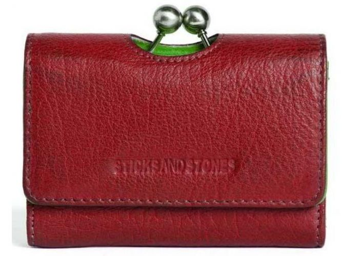 Sticks And Stones  BIARRITZ WALLET Rood
