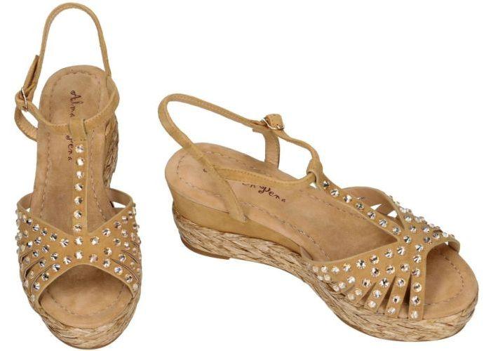 Alma En Pena V19540  sandalen beige