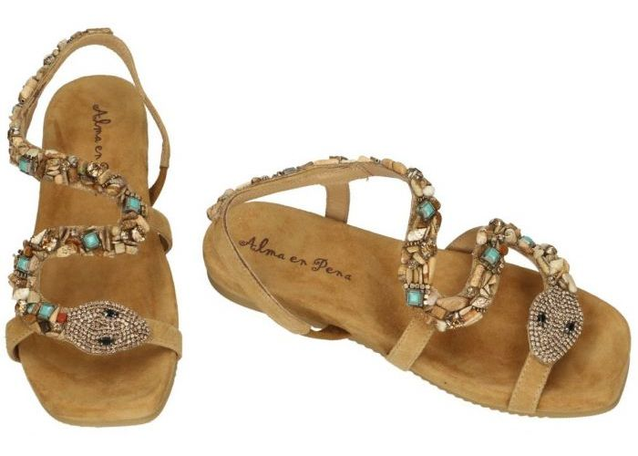 Alma En Pena V21350 sandalen camel