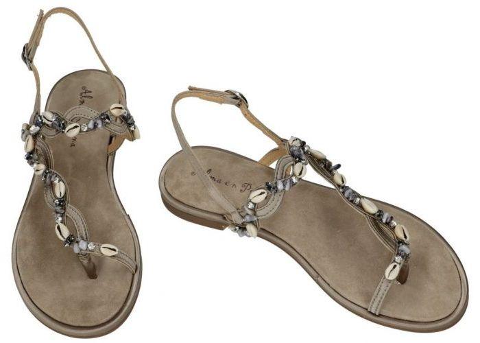 Alma En Pena V20938 sandalen taupe donker