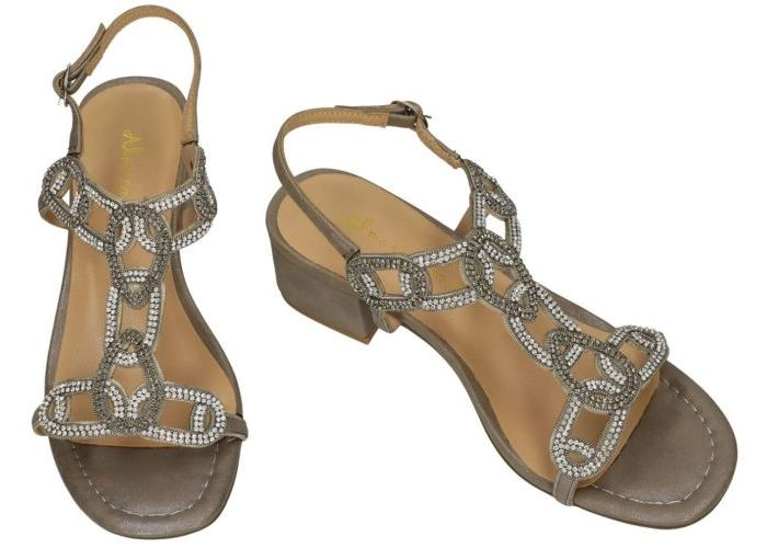 Alma En Pena V19753 sandalen zilver