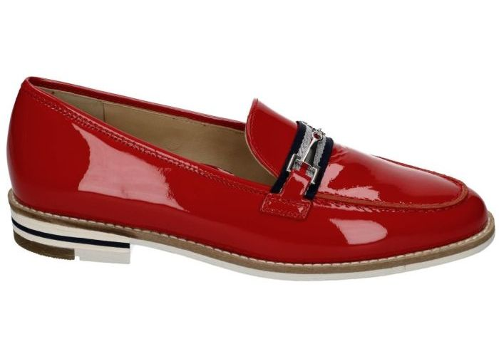 Ara 9326 mocassins - loafers rood