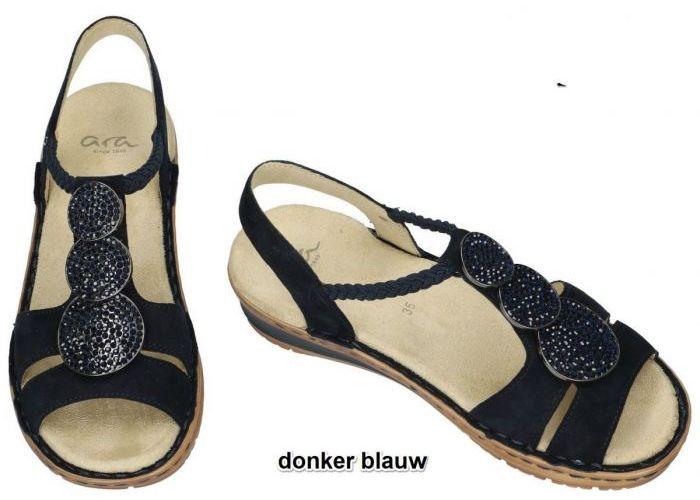 Ara 12-27239  72G sandalen blauw donker