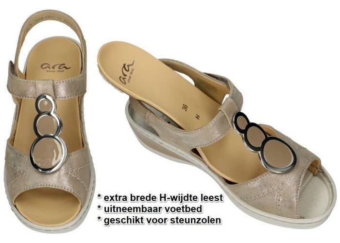Ara 12-39055  10H COLMAR-ANG sandalen taupe