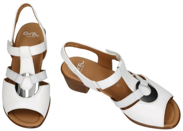 Ara 12-35715 12(H) sandalen wit