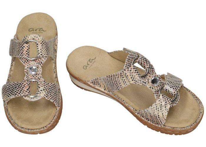 Ara 12-27270 81G slippers & muiltjes off-white/ecru/parel