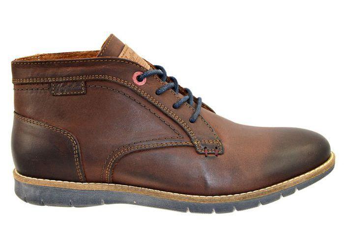 Herenschoenen Australian Footwear BOOTS & BOTTINES EMERALD 15.1146.02 Bruin Donker
