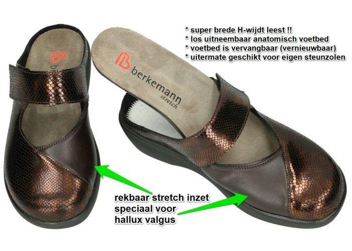 Berkemann 05060 ROSIE pantoffels brons