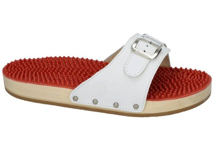 Herenschoenen Berkemann PANTOFFELS & SLIPPERS 00107-100 noppen sandale Wit