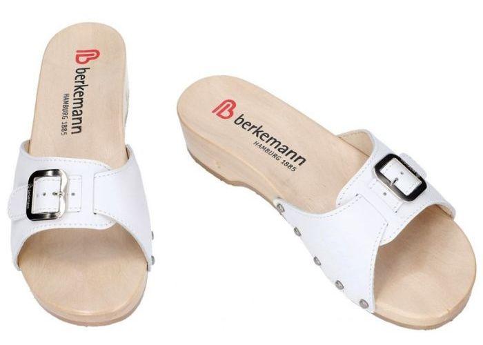 Berkemann 00110-100 HAMBURG slippers & muiltjes wit